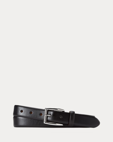 Harness Leather Dress Belt