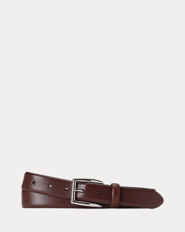 Harness Leather Dress Belt
