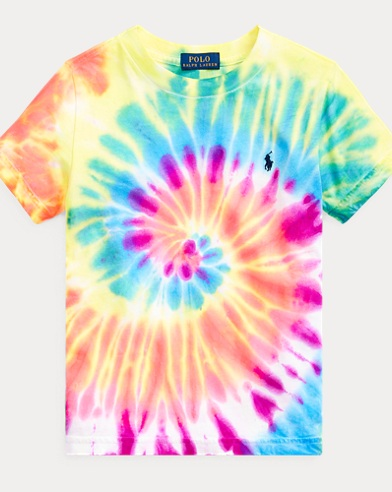 Tie-Dyed Cotton Jersey Tee