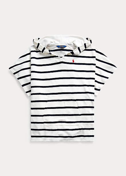 Polo RalphLauren Striped Terry Cover-Up