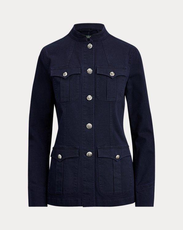 Jacke aus Baumwollsegeltuch