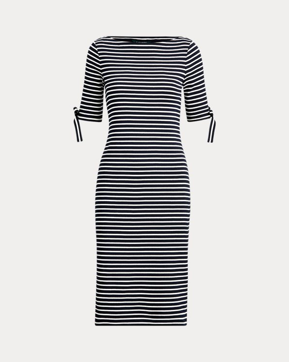 Striped Casual Cotton Dress