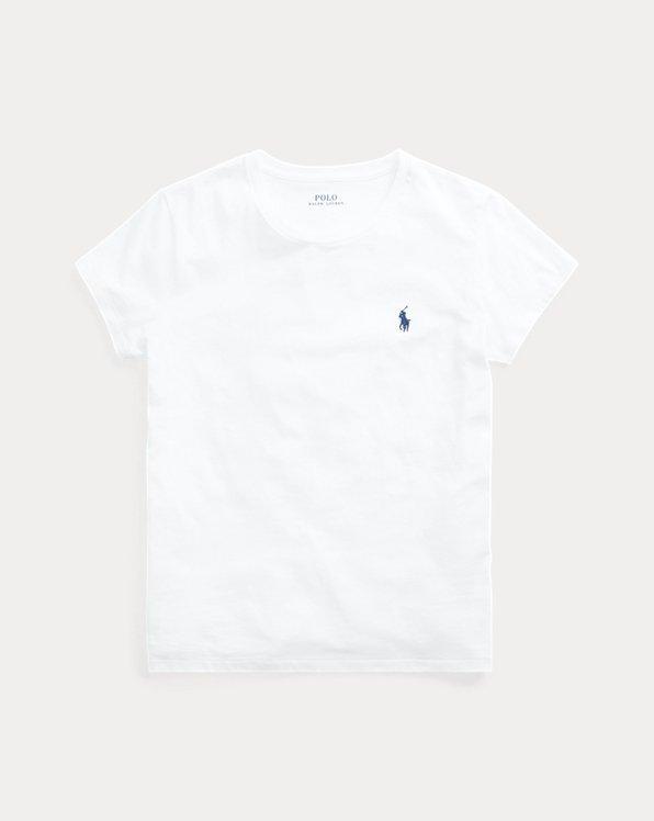 Maglietta a girocollo in cotone