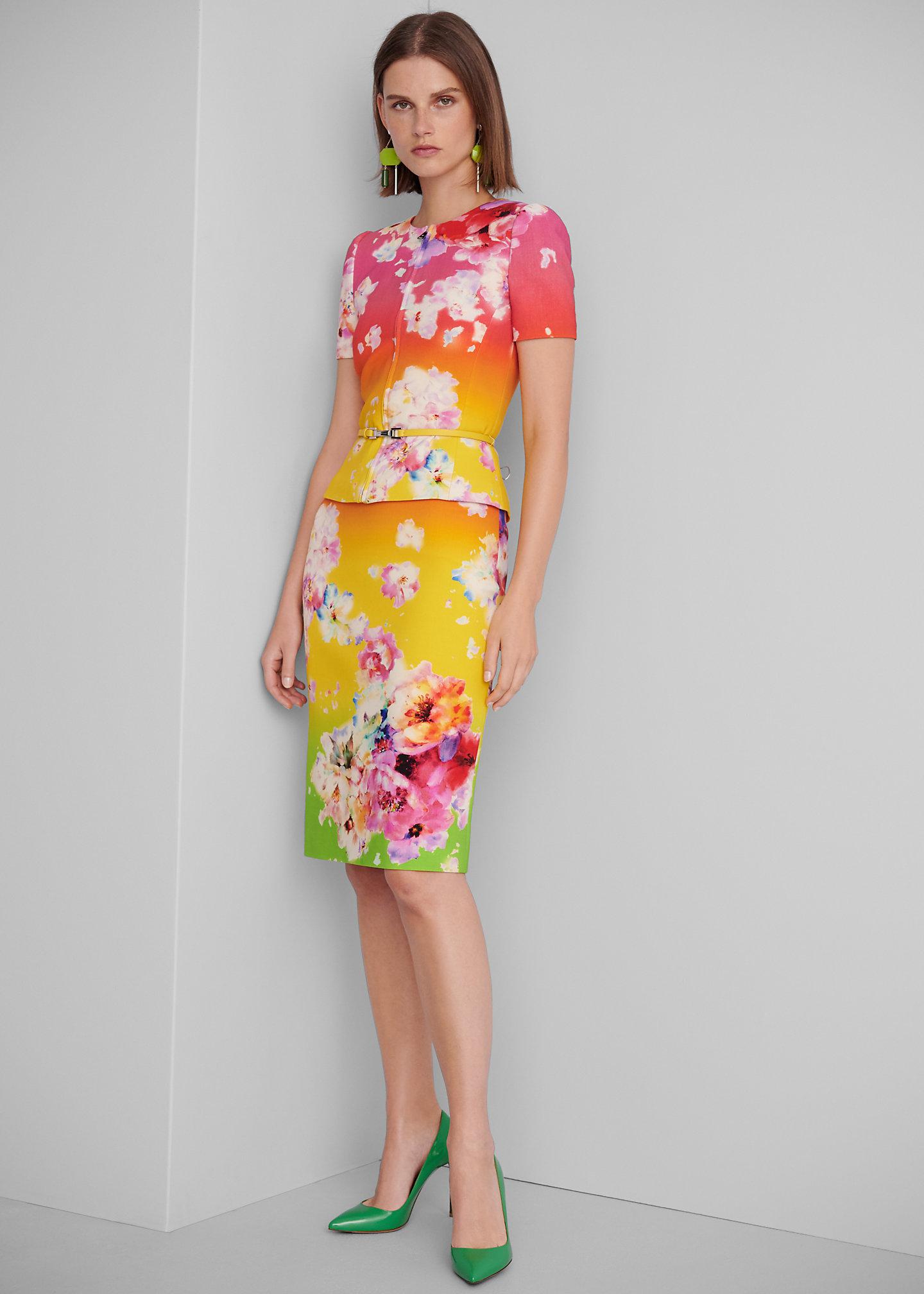 Ralph Lauren Collection Gonna Cynthia in lana sfumata 1