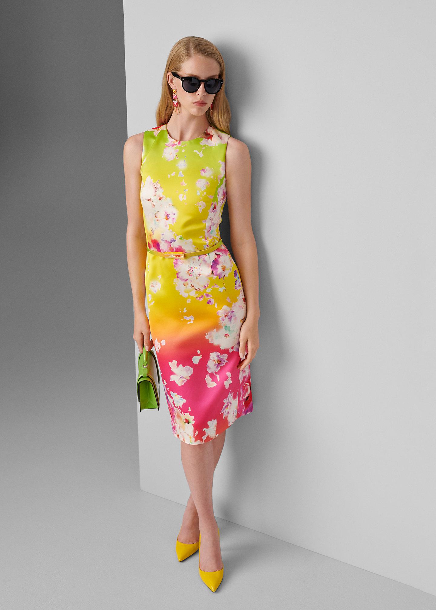 Ralph Lauren Collection Abito Tuscon a fiori con cintura 1