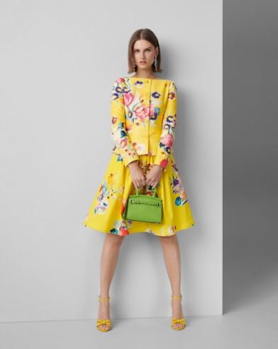Emilia Floral Cotton Skirt