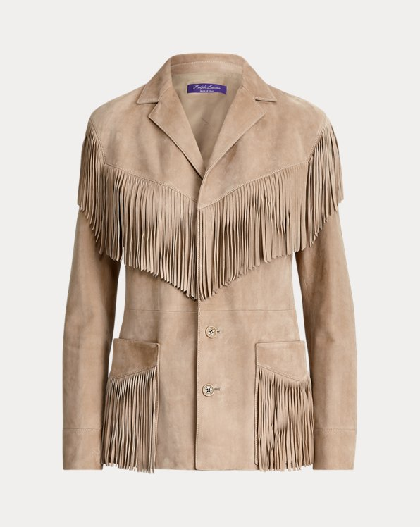 Bryleigh Lamb-Suede Jacket