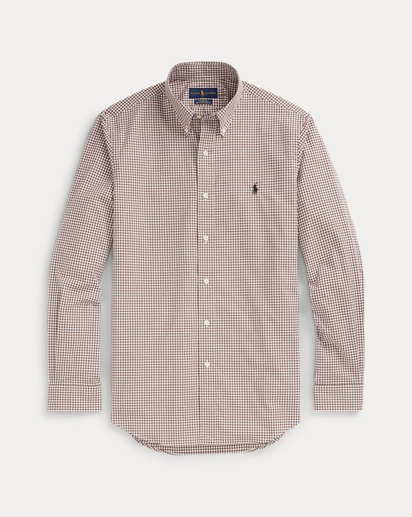 Classic-Fit Popelinehemd