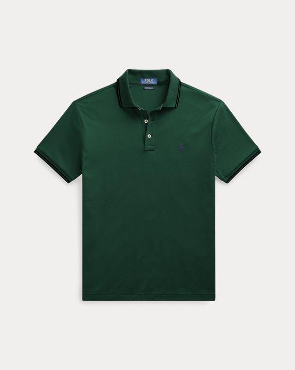 Custom-Slim-Fit Interlock-Polohemd