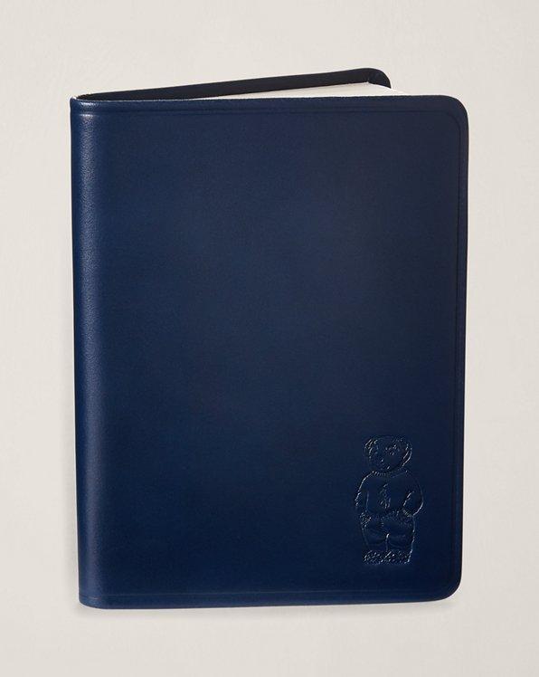 Polo Bear Leather Journal