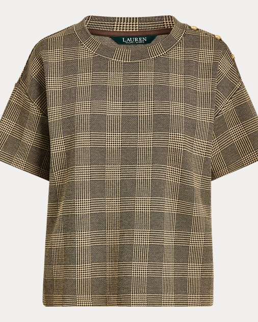 Polo RalphLauren Glen Plaid Knit Tee