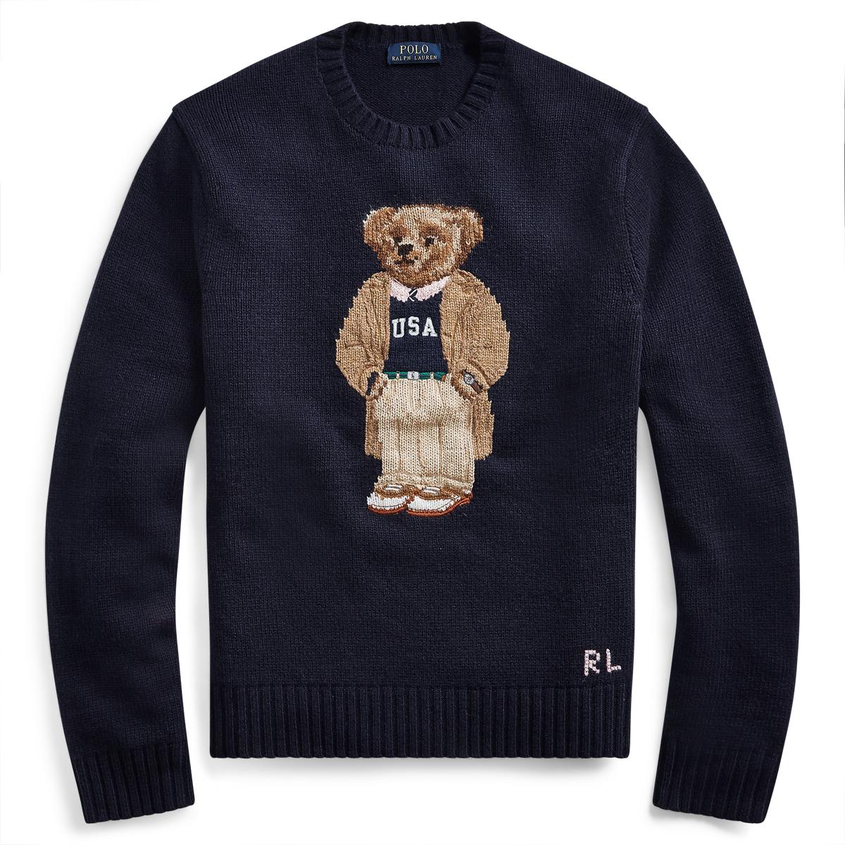 Pullover mit Collegiate Bear