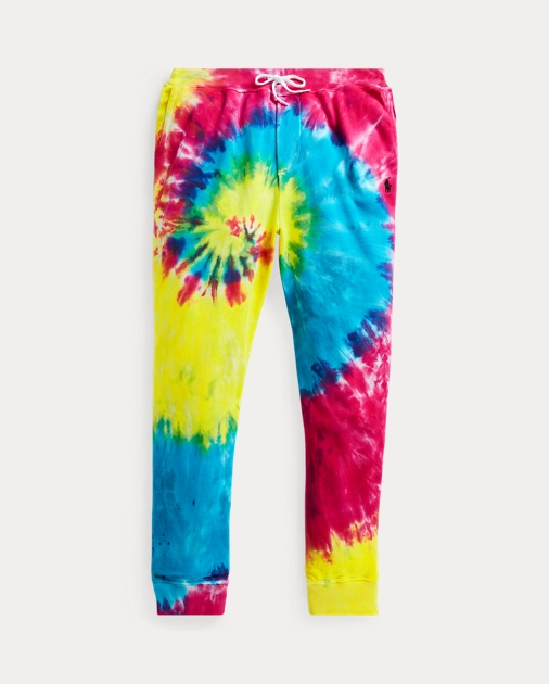 Tie Dye French Terry Jogger by Ralph Lauren