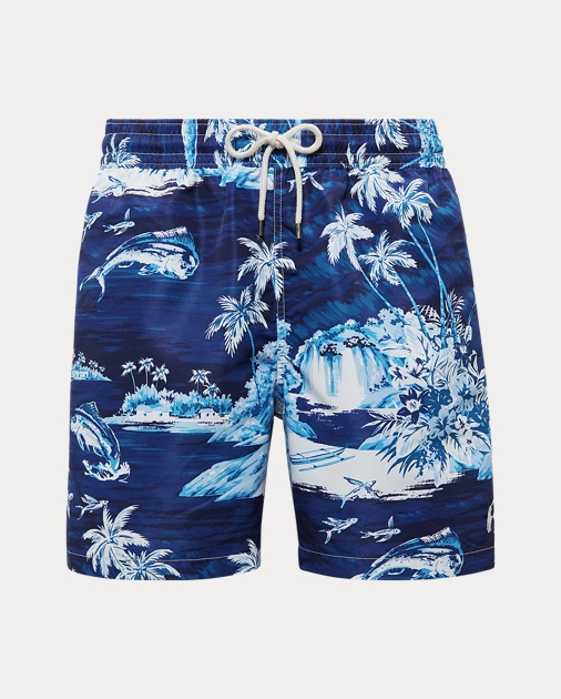 vendite calde 13870 84e2e Traveler Tropical Swim Trunk