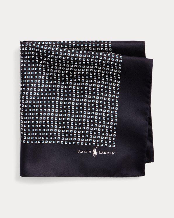 Pañuelo de bolsillo de seda elegante