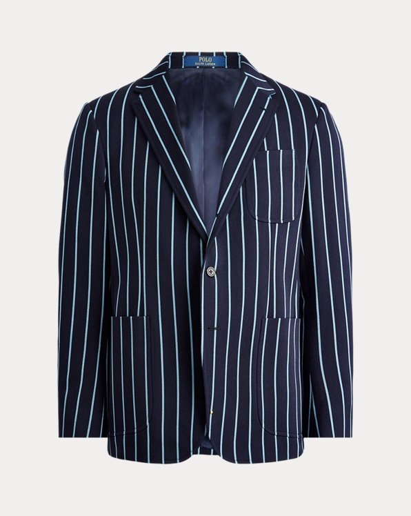 Striped Wool Sport Coat