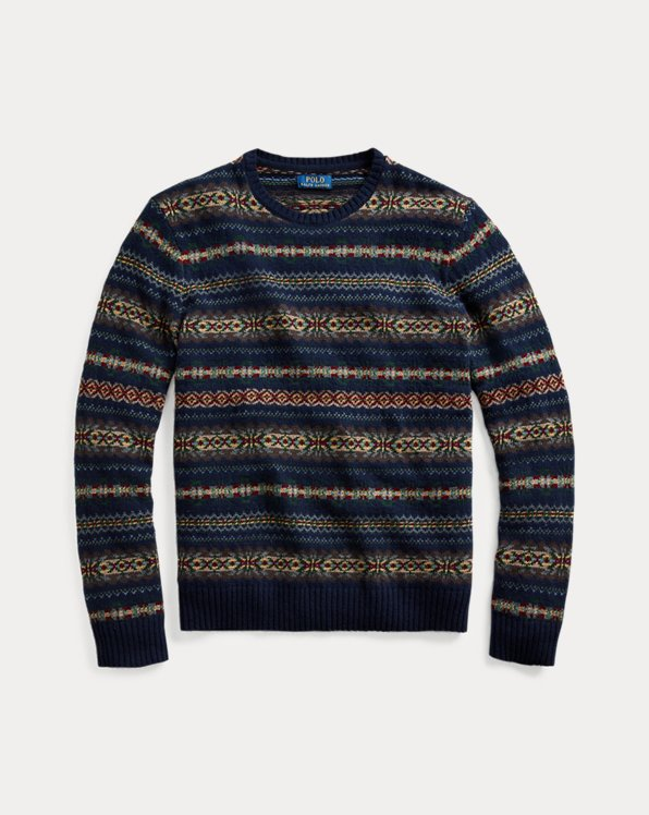 Fair Isle Cotton-Blend Jumper