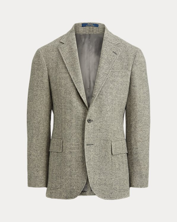 Wool Herringbone Sport Coat