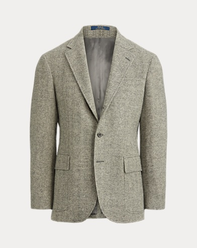 Wool Herringbone Sport Coat
