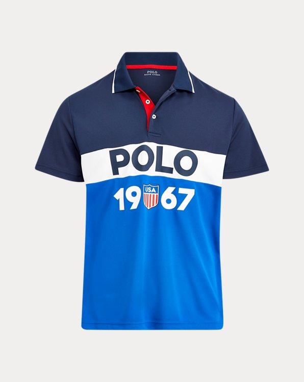 Polo in piqué di cotone tecnico Classic-Fit
