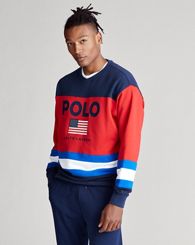 Flag Fleece Sweatshirt