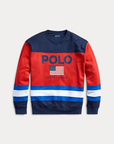 Flag Fleece Sweatshirt