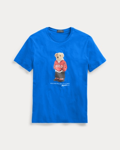 T-Shirt im Custom-Slim-Fit mit Bear