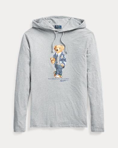 Maglietta Polo Bear con cappuccio