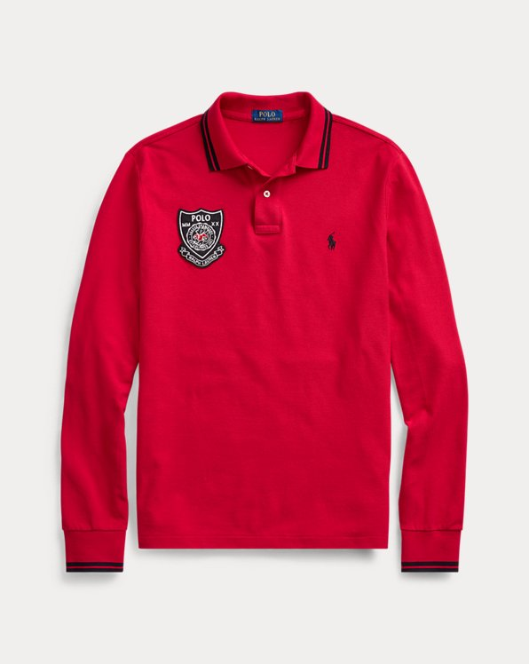 Lunar New Year Mesh Polo Shirts