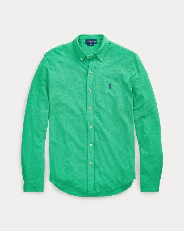 Classic-Fit-Hemd aus Baumwollpiqué