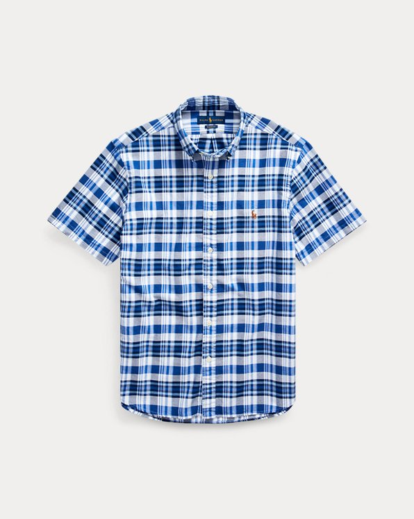 Camisa Oxford Classic Fit a cuadros