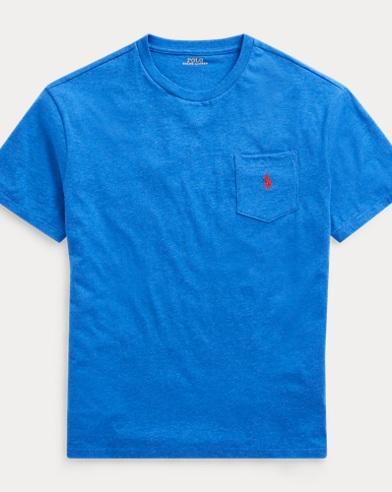 Classic-Fit T-Shirt mit Tasche