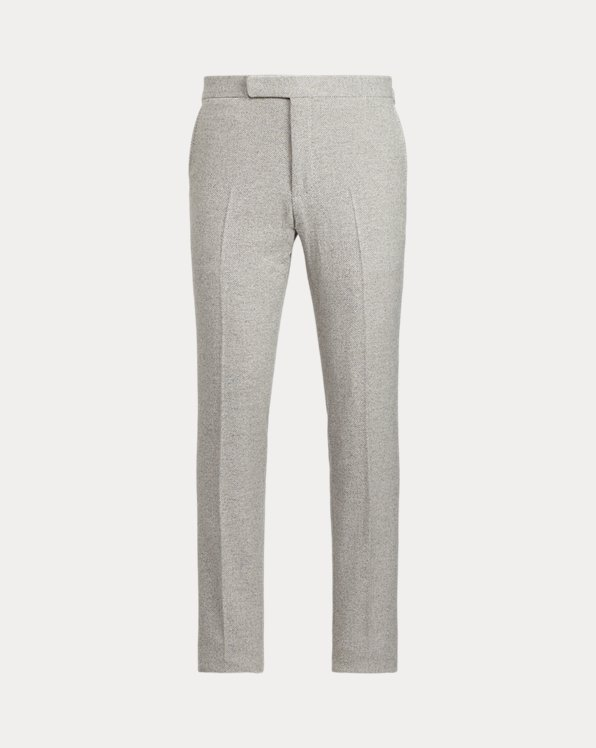 Polo Herringbone Tweed Trouser