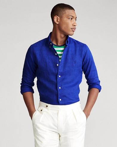 Custom Fit Linen Shirt