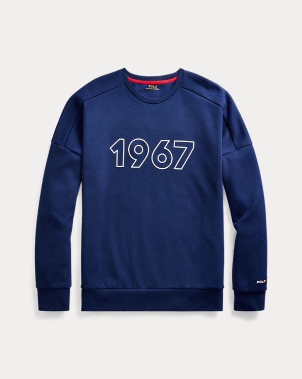 Double-KnitGraphic Sweatshirt