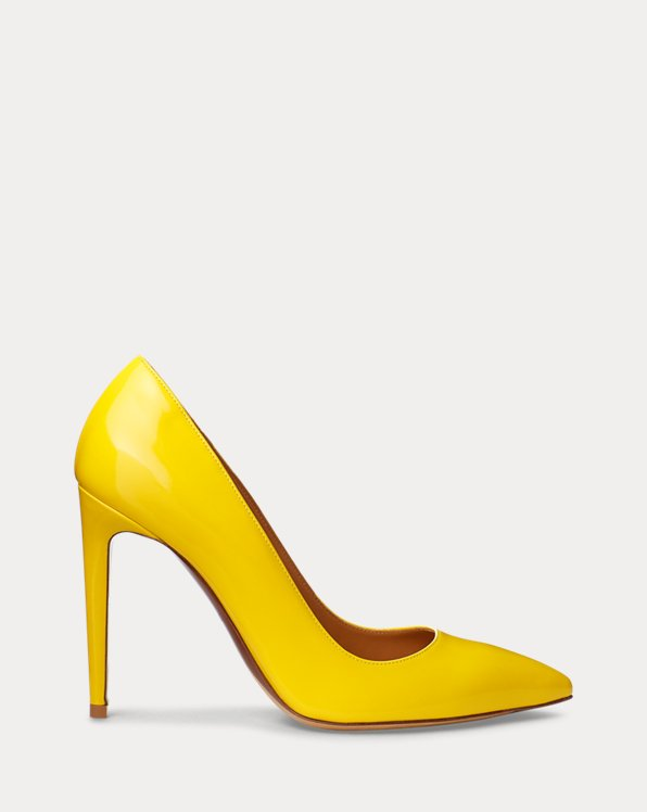 Celia Patent Calfskin Pump by Ralph Lauren Collection, available on ralphlauren.com Kate Middleton Shoes SIMILAR PRODUCT