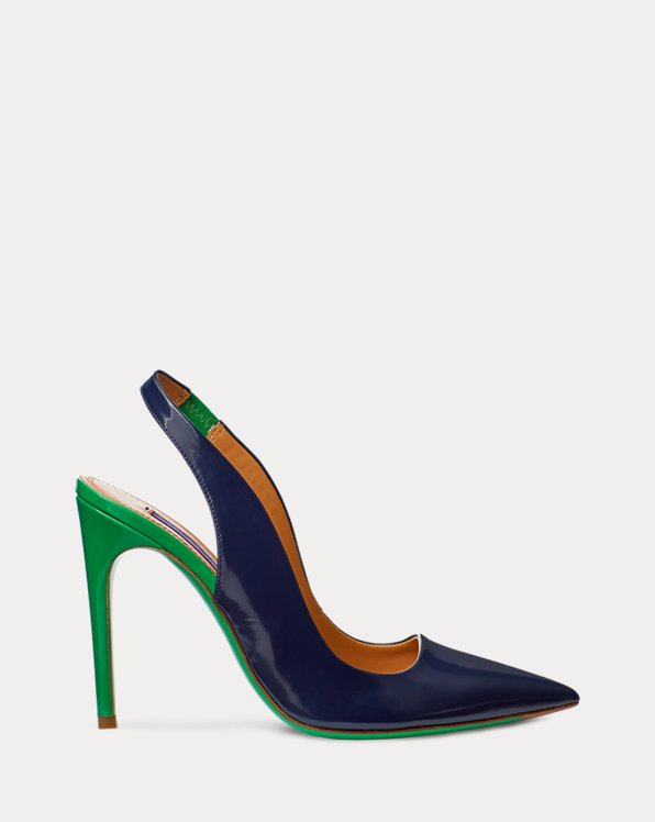 Carley Two-Tone Calfskin Pump