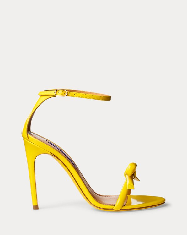 Jennefer Bow Patent Sandal