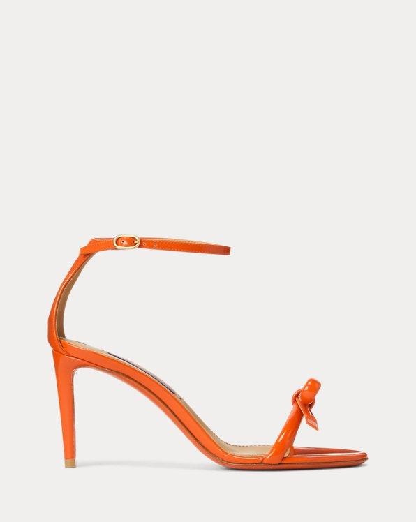 Joanne Bow Patent Sandal