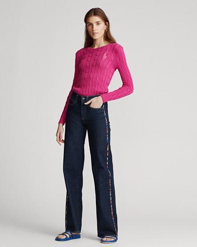 Ulta Stretch Wide-Leg Jean
