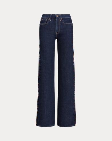 UltraStretch Wide-Leg Jean