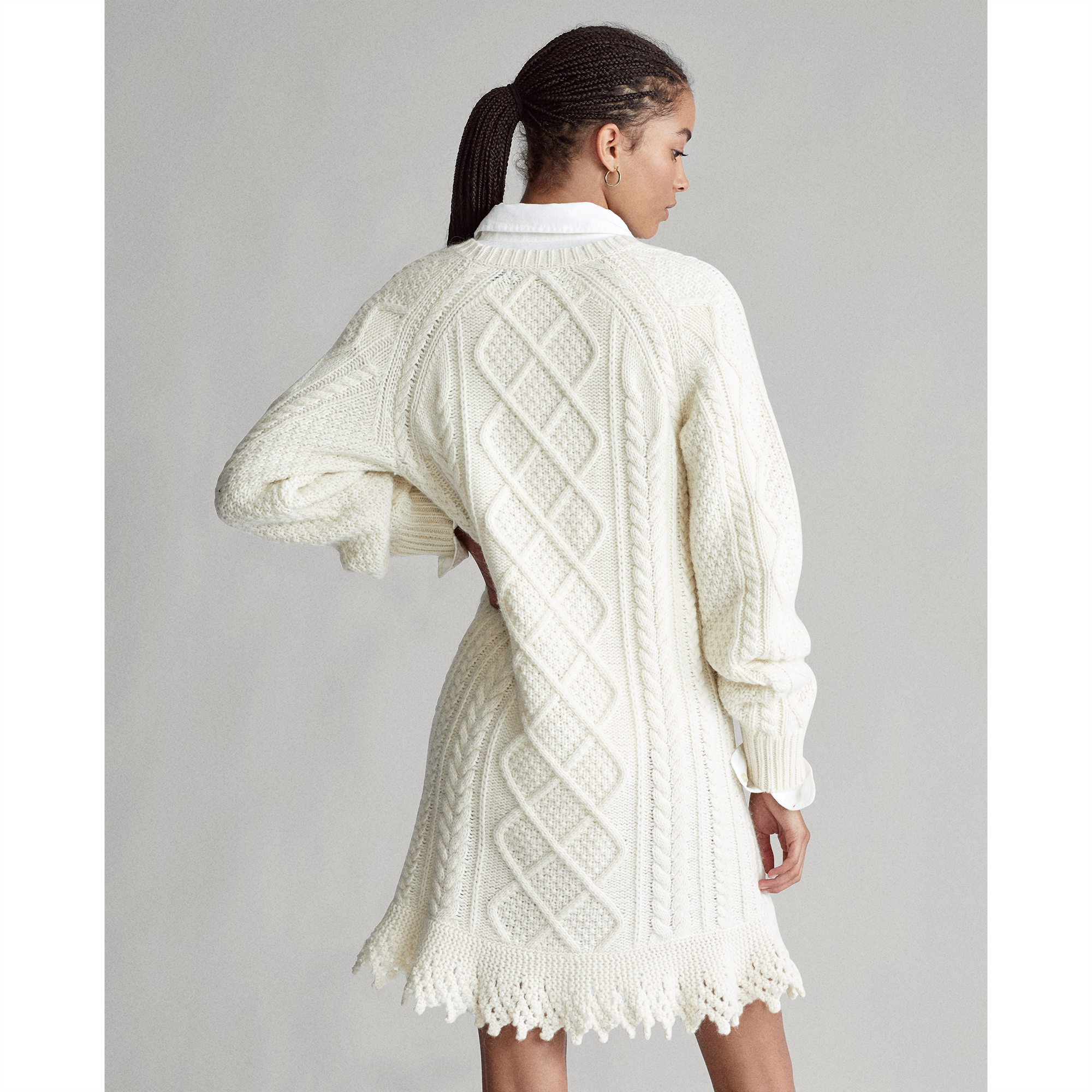 Polo Ralph Lauren Aran-Knit Sweater Dress 4