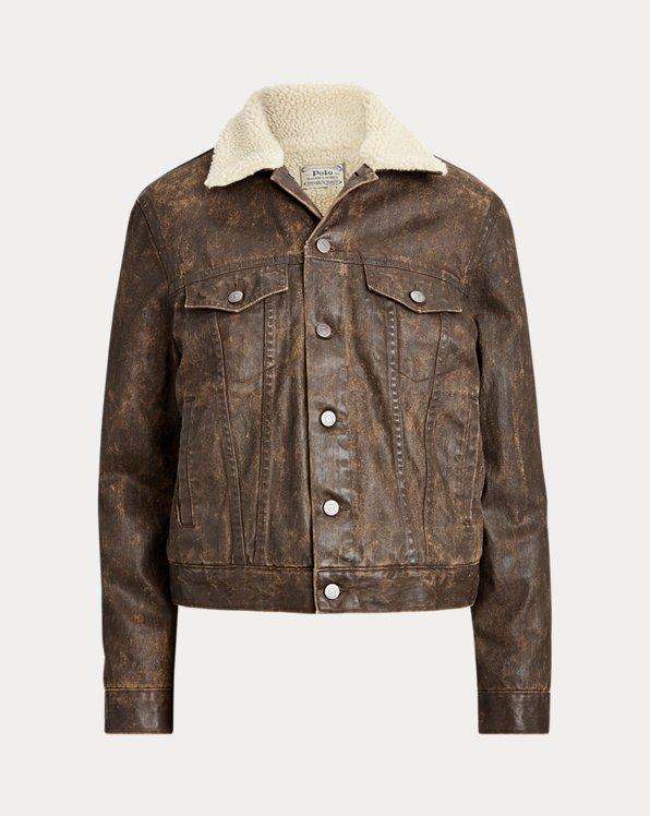 Fleece-Lined Trucker Jacket