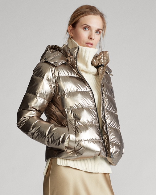 Polo Ralph Lauren Metallic Down Jacket 1