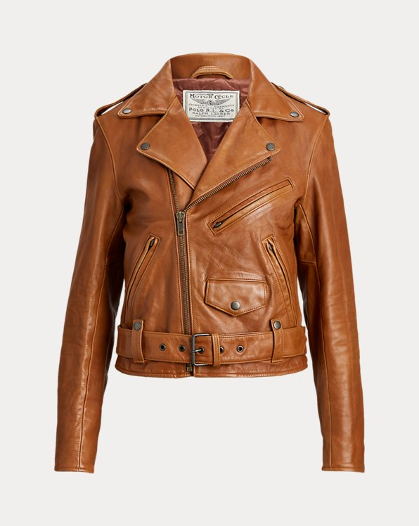 Sheepskin Moto Jacket