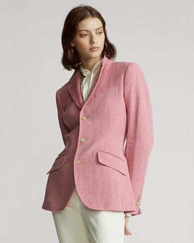 Cotton-Blend Blazer