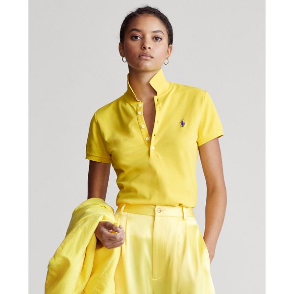 Ralph Lauren Women's Slim Fit Stretch Polo