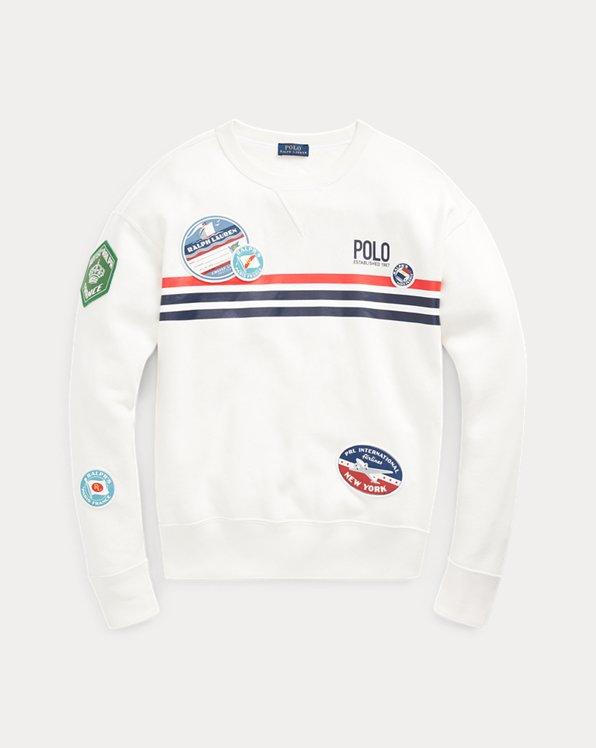 Patchwork Fleece Sweatshirt