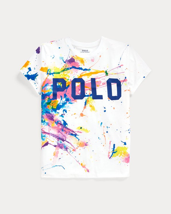 Polo Paint-Graphic Tee