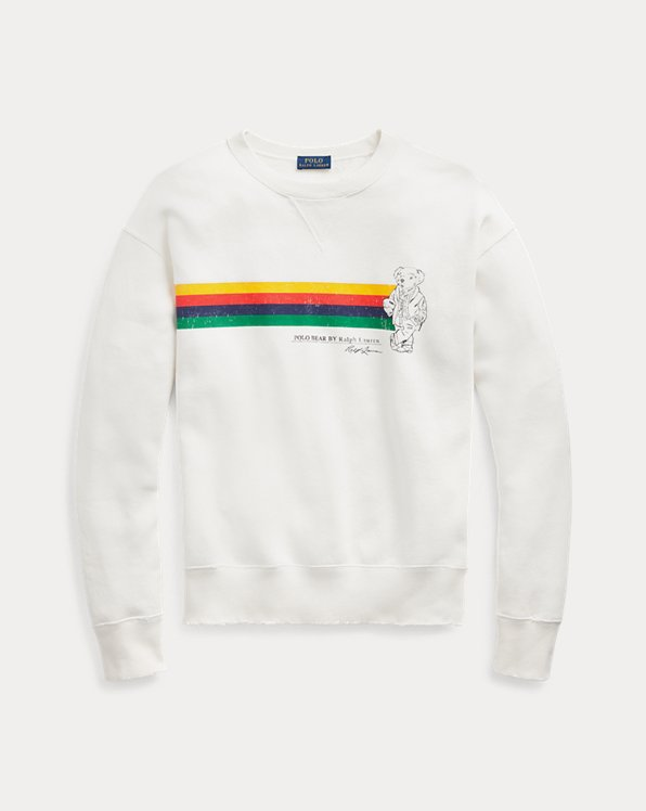 Pull Polo Bear en molleton